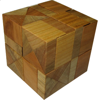 Puzzle Solution for Diagonal Halfcubes