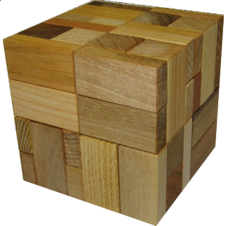Puzzle Solution for Rob's Halfcubes 1