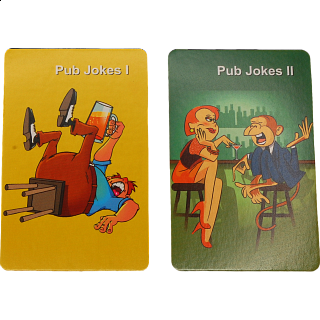 Playing Cards - Pub Jokes