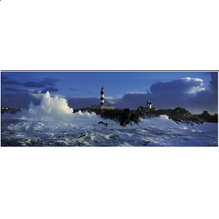 Panorama: Lighthouse Le Créac'h
