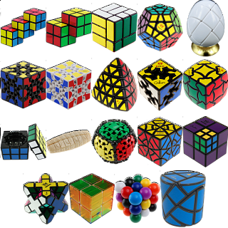 Group Special - a set of 18 Puzzle Master Rotational Puzzles