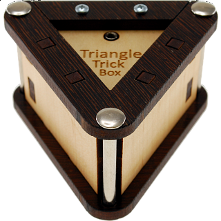 Puzzle Solution for Triangle Trick Box