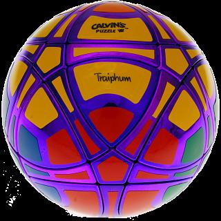 Traiphum Megaminx Ball - (6-Color) Metallized Purple