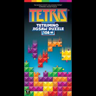 Tetris Tetrimino Tangle - 108 pc Brainteaser