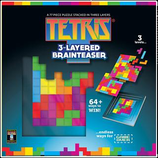 Tetris 3-Layered Brainteaser