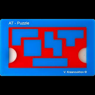 Puzzle Solution for Antislide-Tetramino Puzzle