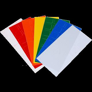 3x3x3 Half-Bright Sticker Set