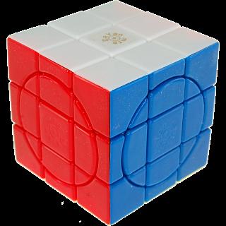Crazy 3x3 Plus - Stickerless - 4 Circle Faces
