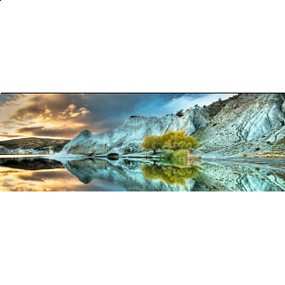 AVH Panorama: Blue Lake