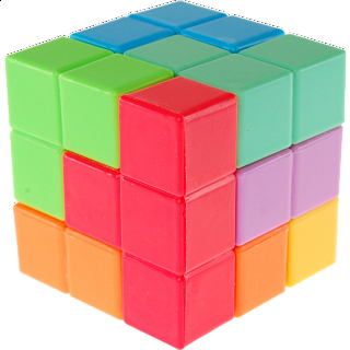 Soma 3D Puzzle Cube