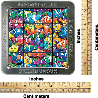 Magna 3D Lenticular Puzzle: Clown Fish