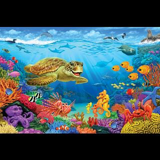 Floor Puzzle: Ocean Reef