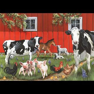 Red Barn Farm - Tray Puzzle