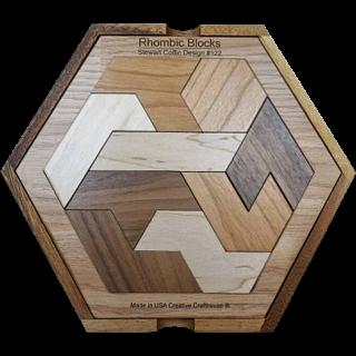 Rhombic Blocks