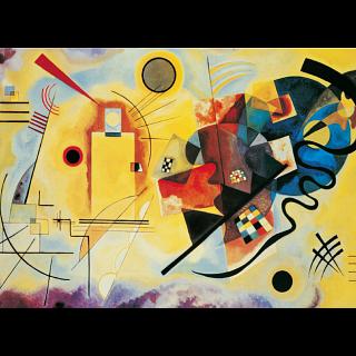 Yellow-Red-Blue - Kandinsky