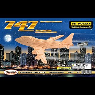 747 - 3D Wooden Puzzle