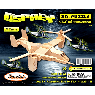 Osprey - 3D Wooden Puzzle