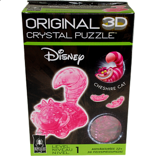 3D Crystal Puzzle - Cheshire Cat