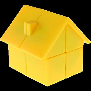 YJ House 2x2x2 - Yellow Body