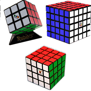Group Special - a set of 2 Rubik's Cube puzzles