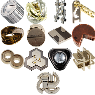 Group Special - a set of 12 Hanayama's NEW puzzles
