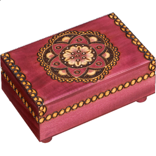 Puzzle Solution for Kaleidoscope Puzzle Box