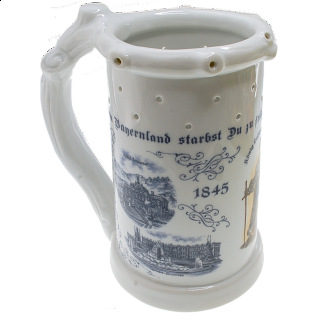 Porcelain Ludwig Puzzle Stein