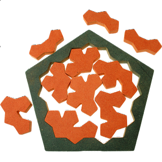 Puzzle Solution for The Pentagon Tiles