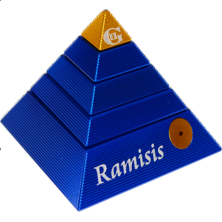 Ramisis GII: Extreme Edition - Blue with Gold Capstone