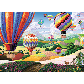 Brilliant Balloons - Large Piece Format
