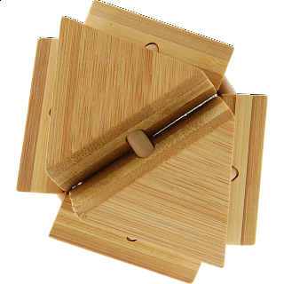 Puzzle Solution for Bamboo Wood Puzzle 11