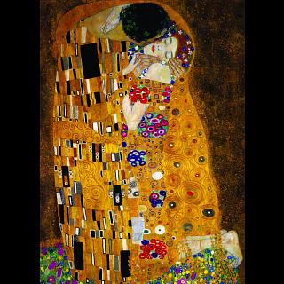 Gustav Klimt - The Kiss