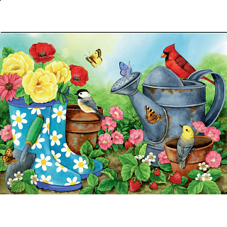 Garden Traditions - Large Format Puzzle