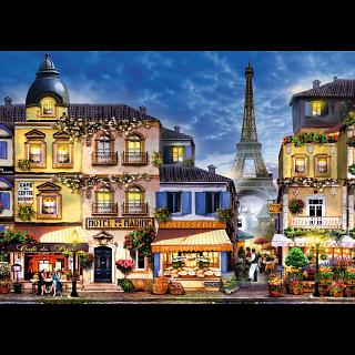 Pretty Paris - Large Piece Format