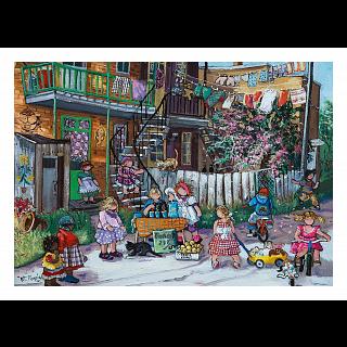 Alley Fun - Pauline Paquin
