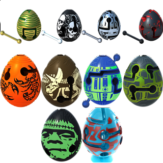 Group Special - A set of 5 Smart Egg Labyrinth Puzzles