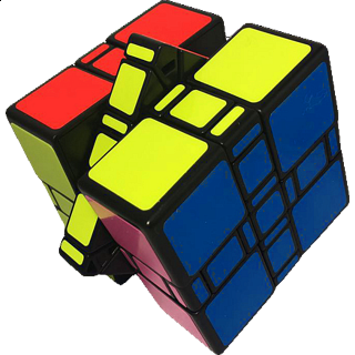 limCube 3x3x3 Mixup Ultimate Cube - Black Body