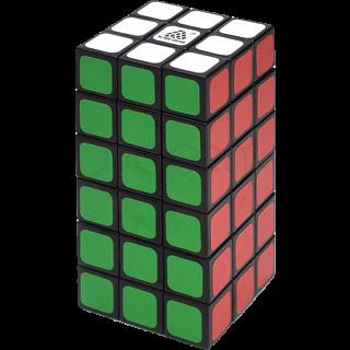 WitEden 3x3x6 Cuboid Cube - Black Body