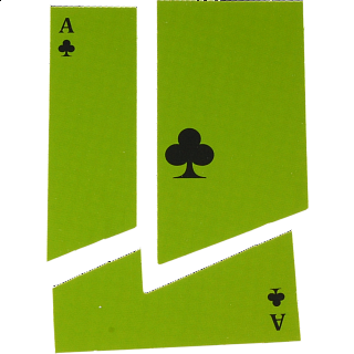 Puzzle Solution for Card with a Disappearing Hole - Version 2