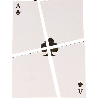 Puzzle Solution for Card with a Disappearing Hole - Version 1