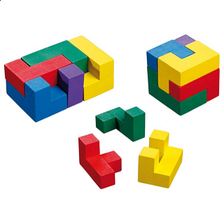 Puzzle Solution for Inspiration Cube