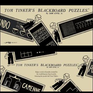 Tom Tinker's Blackboard Puzzles - Book