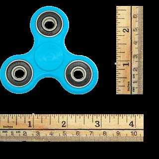 Hand Tri Spinner Anti-Stress Fidget Toy - Blue