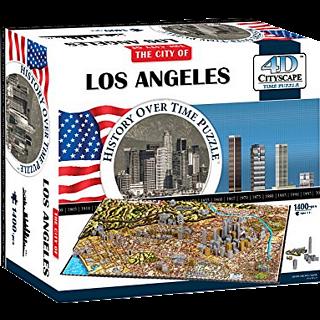 4D City Scape Time Puzzle - Los Angeles