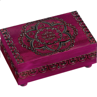 Puzzle Solution for Floral Pattern Puzzle Box