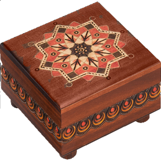 Kaleidoscope Puzzle Box #3