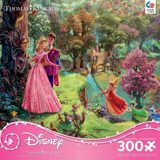Thomas Kinkade: Disney - Sleeping Beauty - Large Piece