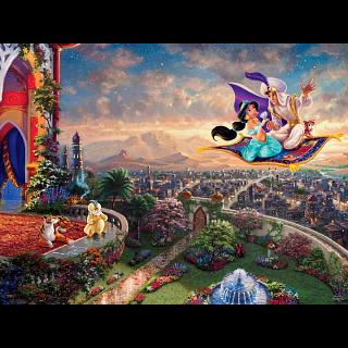 Thomas Kinkade: Disney - Aladdin - Large Piece