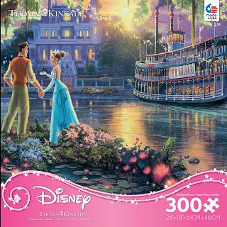 Thomas Kinkade: Disney - The Princess and the Frog - Large Piece