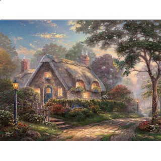 Thomas Kinkade: Special Edition - Lovelight Cottage